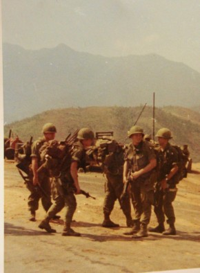 leaving firebase for patrol in Ashau Valley