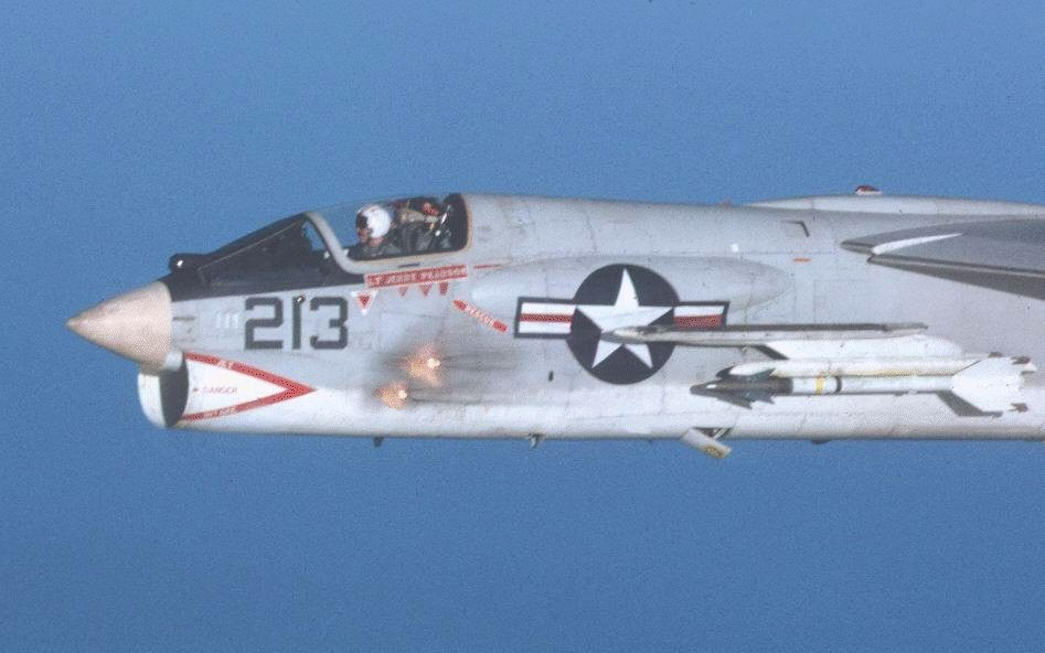 f 8 crusader on fire over the pacific guest blog cherries a vietnam war novel. Black Bedroom Furniture Sets. Home Design Ideas
