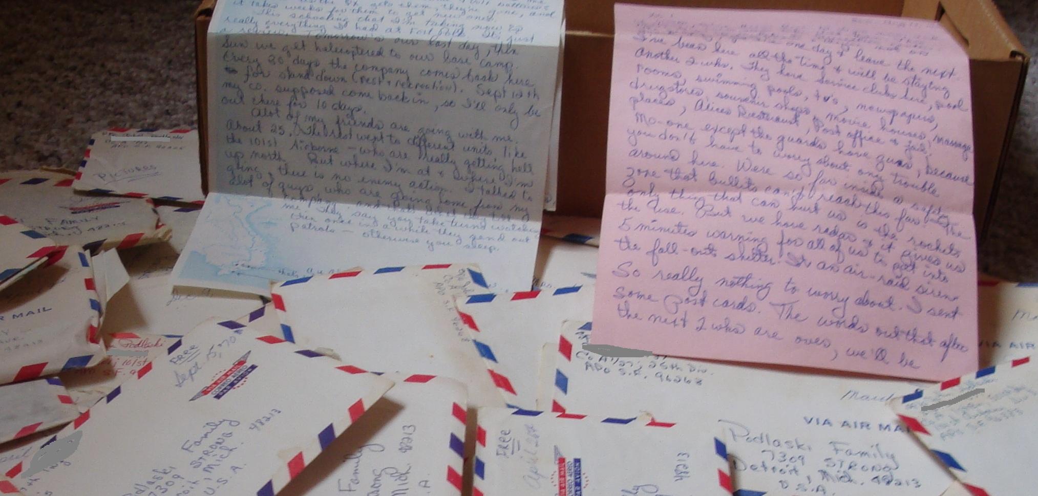 Mail Call in Vietnam – Dear John… – Cherries – A Vietnam War Novel