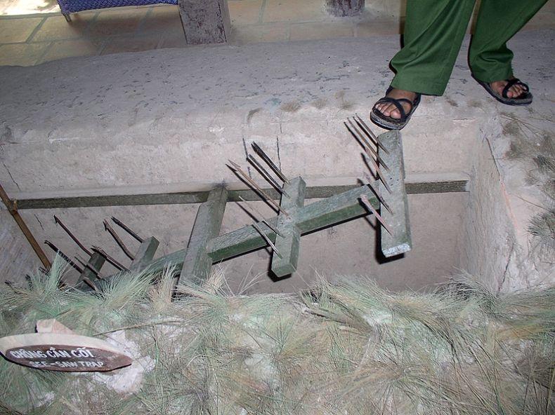 Booby traps in the Vietnam War | CherriesWriter - Vietnam
