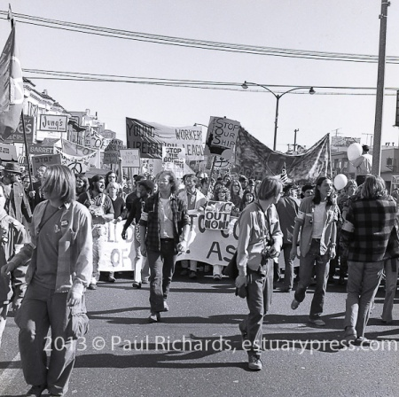 Spring 1972 San Francisco March against the War in Vietnam