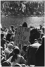 protest on the mall