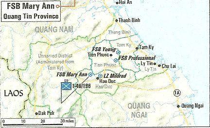 VC Overrun Fire Support Base Mary Ann   CherriesWriter ... on michelin rubber plantation vietnam map, rung sat special zone vietnam map, batangan peninsula vietnam map, bien hoa air base vietnam map, chu lai vietnam map, binh dinh province vietnam map, hill 55 vietnam map, khe sahn vietnam map, bong son vietnam map, tuy hoa air base vietnam map, china beach vietnam map, an khe vietnam map, iron triangle vietnam map,