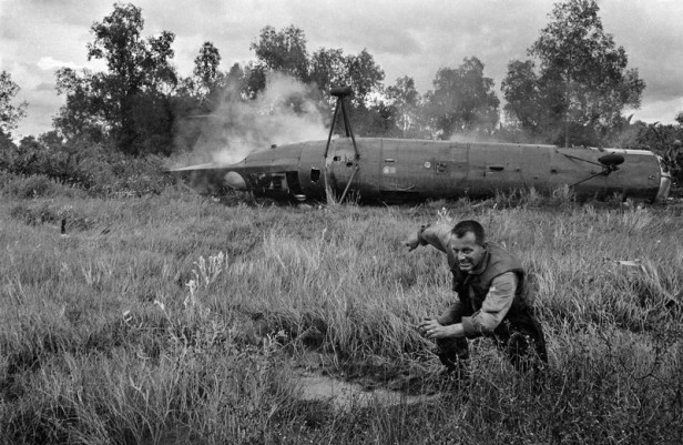 Vietnam War Helicopter Crash