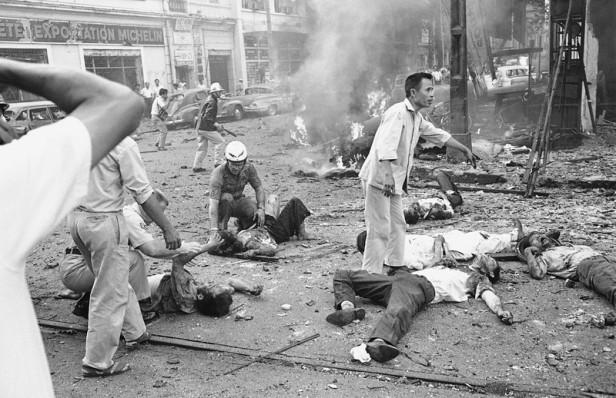 Vietnam Saigon Bombing 1965