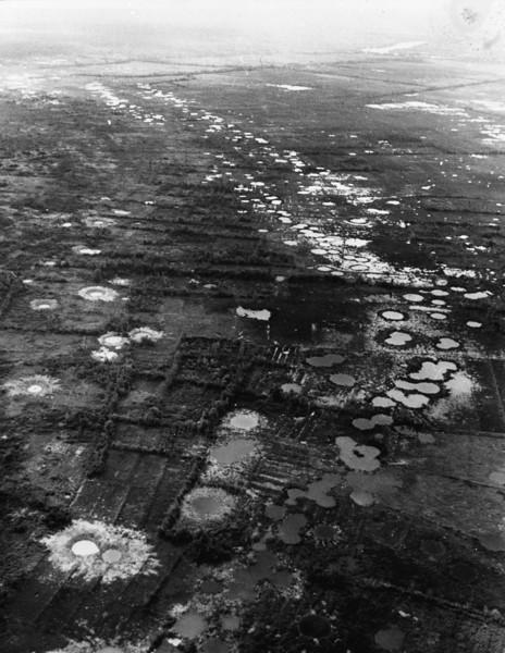 VIETNAM WAR BOMB CRATERS