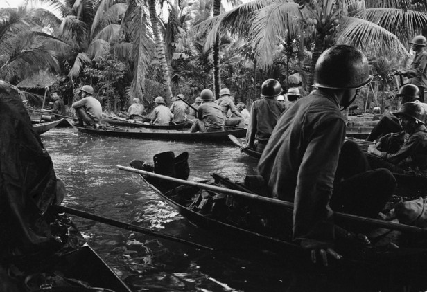 Vietnam War Sampan Assault