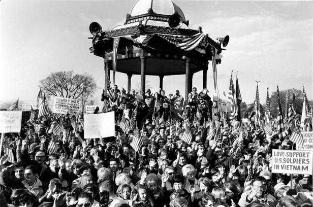 PRO-VIETNAM WAR DEMONSTRATION