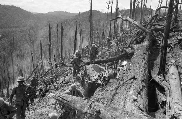 Vietnam War US Dak To