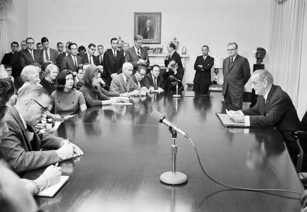 U.S. President Lyndon Johnson