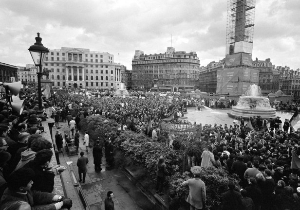 London Vietnam War Demonstration