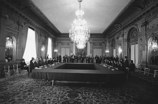 Vietnam Paris Peace Talks 1968