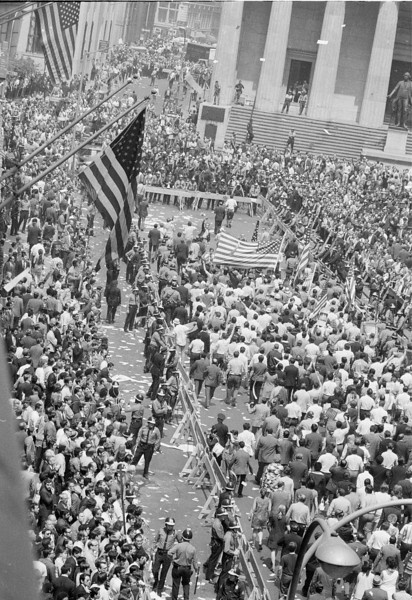 NYC PRO VIETNAM WAR RALLY