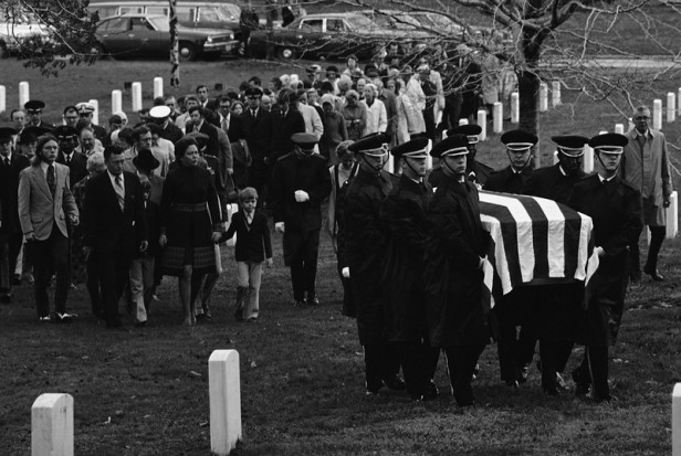 POW Wilmer Grubb Funeral 1974