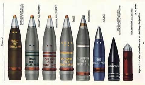 105 gun rounds