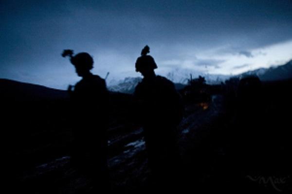 Americans patrol Wardak