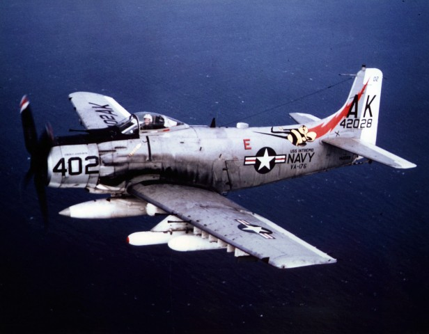 A-1J_Skyraider_VA-176_Vietnam_1966