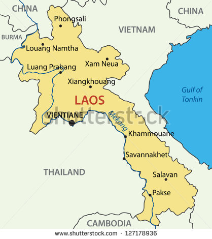 stock-vector-lao-peoples-democratic-republic-vector-map-laos-127178936