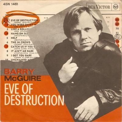 Barry McGuire – Eve of Destruction Lyrics   Genius Lyrics