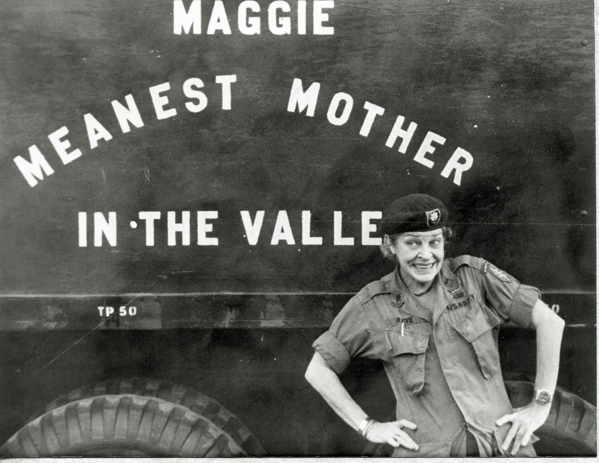 "Who was ""Colonel Maggie""?"