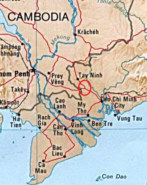Approximate-location-of-the-Ben-Cui-Rubber-Plantation-in-the-Iron-Triangle-Area-of-South-Vietnam