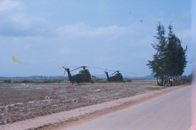 Kingbees on FOB1 airstrip