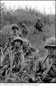 The Vietnam War, Catherine Leroy photographer, South Vietnam, December 1967