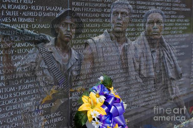 vietnam-veteran-wall-and-three-soldiers-memorial-collage-washington-dc2-david-zanzinger